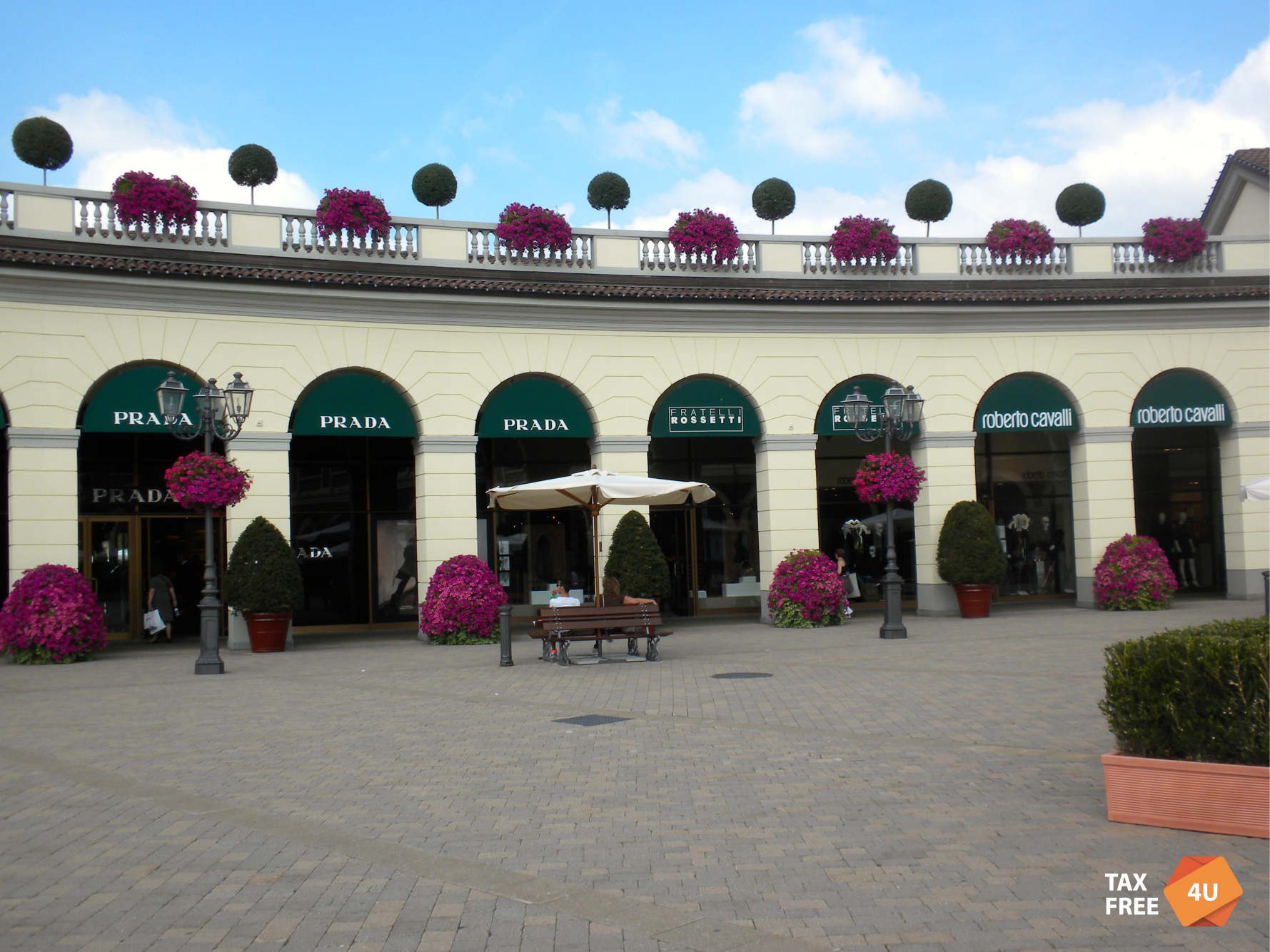 075edd7a6c Serravalle Designer Outlet (Via della Moda 1, Serravalle Scrivia, AL) – a  real paradise for outdoor enthusiasts – there are more than 160 boutiques  on its ...
